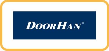 Логотип ДоорХан ворта, автоматика, шлагбаумы
