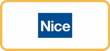 Логотип Nice автоматика, шлагбаумы